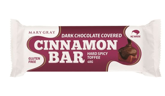 Choc Coated Hard Cinnamon Bar 48g